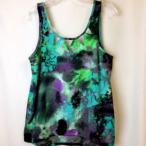 Tops - Colorful Tahnk Top- L